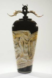 Glass urns - beautiful cremation vessels for your artistic loved one