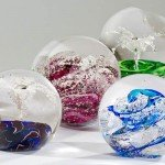Custom Urns: Blown Glass Memory Globes