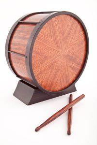 Custom Cremation Urn: The Drum