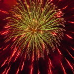 Using Fireworks to Scatter Ashes