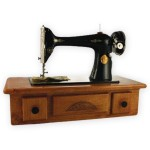 Custom Urn: Sewing Machine
