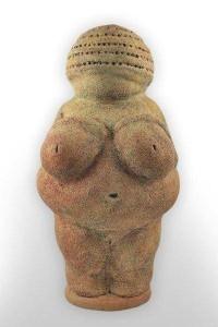 custom cremation urn willendorf front