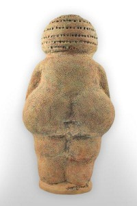 custom cremation urn willendorf back