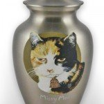 Custom Cremation Urn: Missy Mouse Metal Urn