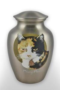 custom cremation urn metal