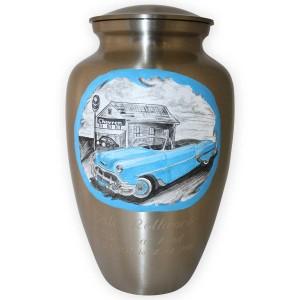 Blue-Chevy-Convertible-Custom-Memorial-Urn