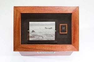 Custom shadow box urn