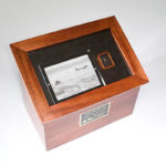 Custom Urns: Shadow Box Cremation Urn