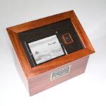 Custom Urns: Shadow Box Cremation Urn