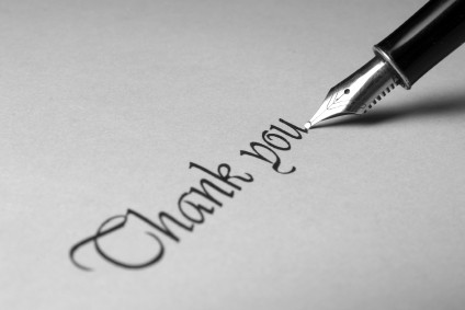 how to handle writing thank you notes after a funeral