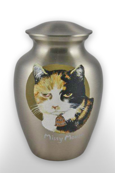 Custom Cremation Urn Missy Mouse Metal Urn