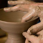 How to Make an Urn Using a Potter's Wheel