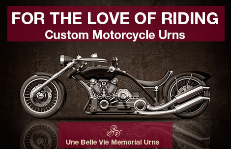 Custom Urns For Motorcycle Enthusiasts
