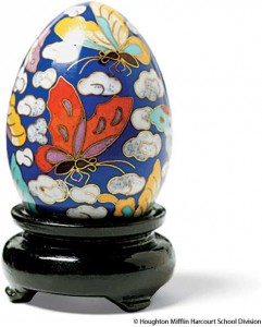 cloisonné butterfly design—photo from thefreedictionary.com