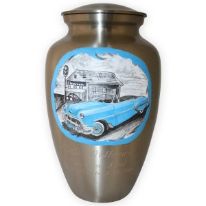 Blue-Chevy-Convertible-Custom-Memorial-Urn