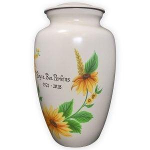 Sunflower Cremation Urn