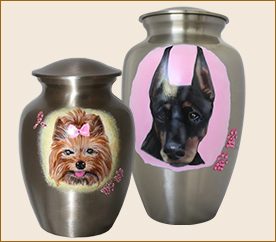 Custom Bling Pet Urns